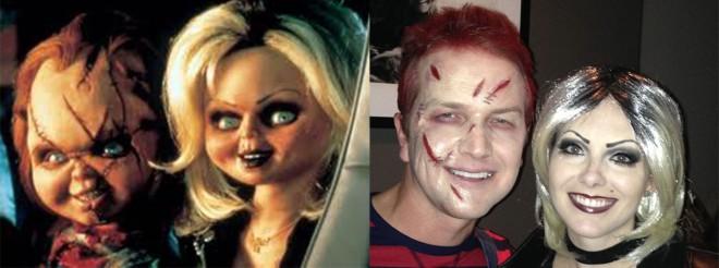 Chucky & Bride Comparison