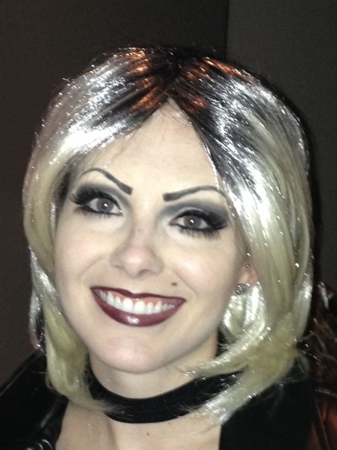 Bride of Chucky Makeup